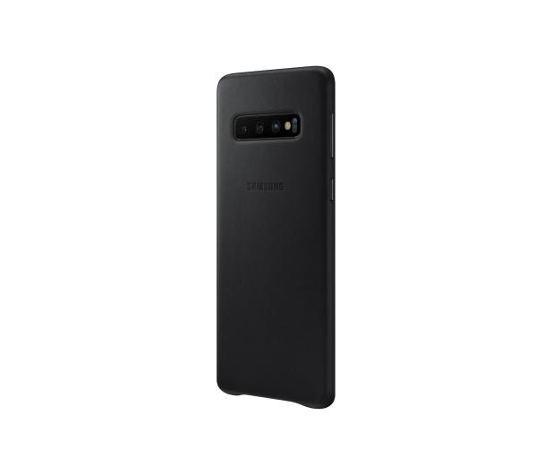 Samsung Leather Cover do Galaxy S10 czarny - 478361 - zdjęcie 4