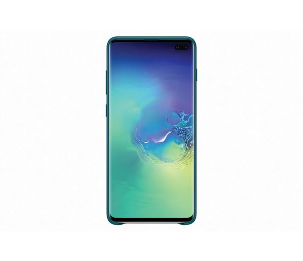 Samsung Leather View Cover do Galaxy S10+ zielony - 478405 - zdjęcie 2