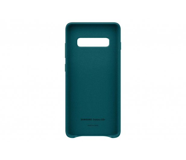 Samsung Leather View Cover do Galaxy S10+ zielony - 478405 - zdjęcie 3