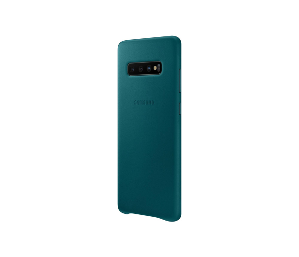 Samsung Leather View Cover do Galaxy S10+ zielony - 478405 - zdjęcie 4