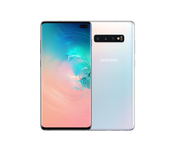 Samsung Galaxy S10+ G975F Prism White - 474176 - zdjęcie