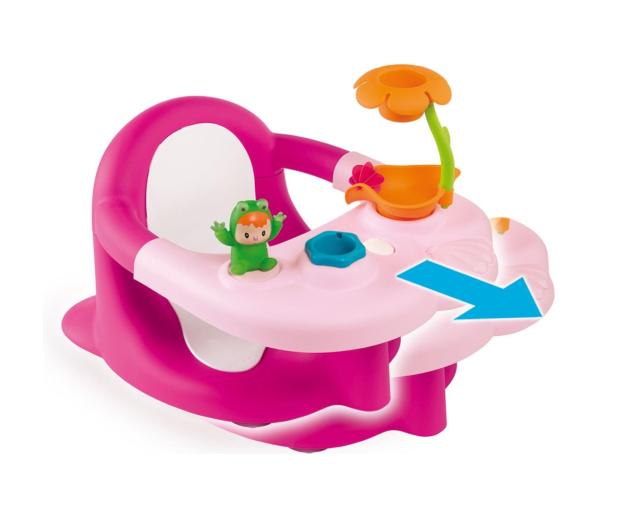 Smoby Cotoons Siedzisko do kąpieli różowe  - 480088 - zdjęcie 2