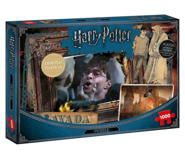 Winning Moves Puzzle 1000 el. Harry Potter Avada Kadavra - 476720 - zdjęcie