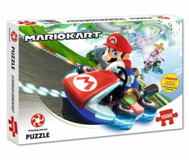 Winning Moves Puzzle 1000 el. Super Mario Funracer  - 476721 - zdjęcie