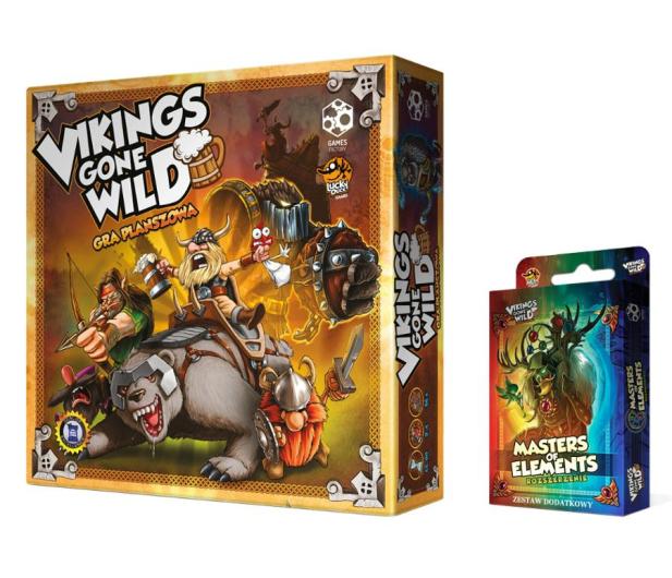 Games Factory Vikings Gone Wild + Booster - 481687 - zdjęcie