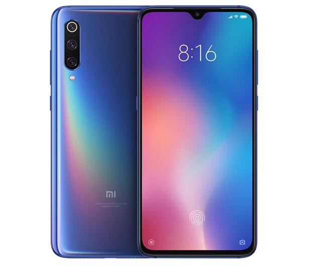 Xiaomi Mi 9 6/64GB Ocean Blue  - 482331 - zdjęcie 5