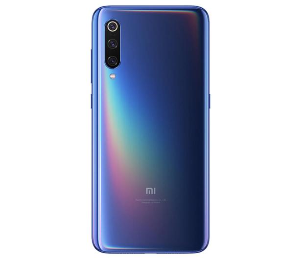 Xiaomi Mi 9 6/64GB Ocean Blue  - 482331 - zdjęcie 4