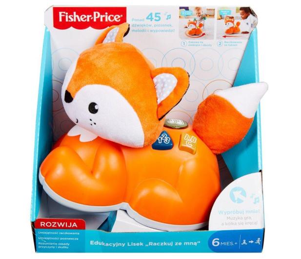 Fisher-Price Edukacyjny Lisek Raczkuj Ze Mną  - 482861 - zdjęcie 6