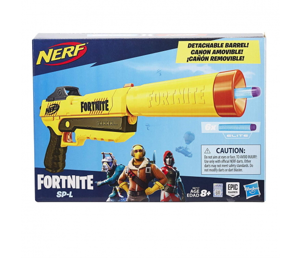 NERF Fortnite SNEAKY SPRINGER Sp-L Elite Dart Blaster - 477729 - zdjęcie 2