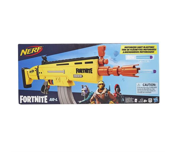 NERF Fortnite RISKY REELER AR-L Elite Dart Blaster - 477728 - zdjęcie 4