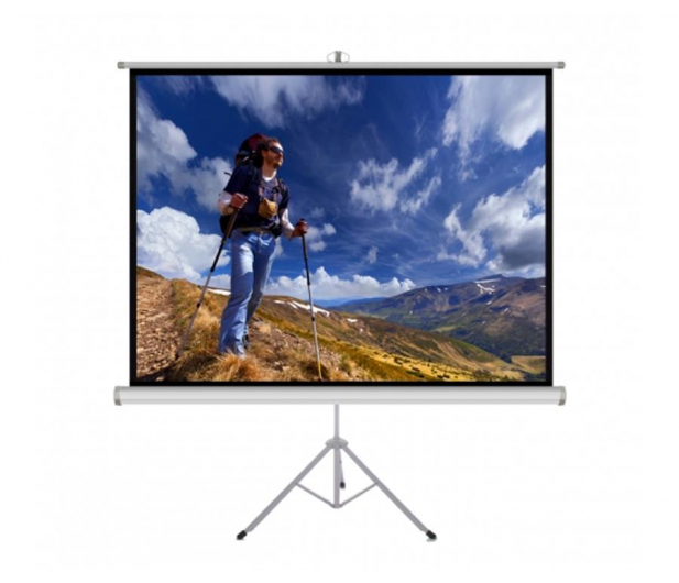 """ART Ekran ręczny na statywie 72"""" 145x110cm 4:3  - 482977 - zdjęcie"""