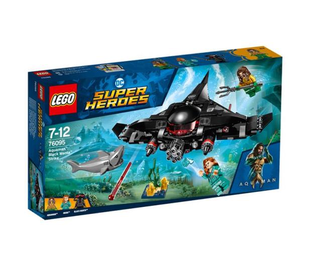 LEGO DC Super Heroes Aquaman Atak Black Manty - 482755 - zdjęcie