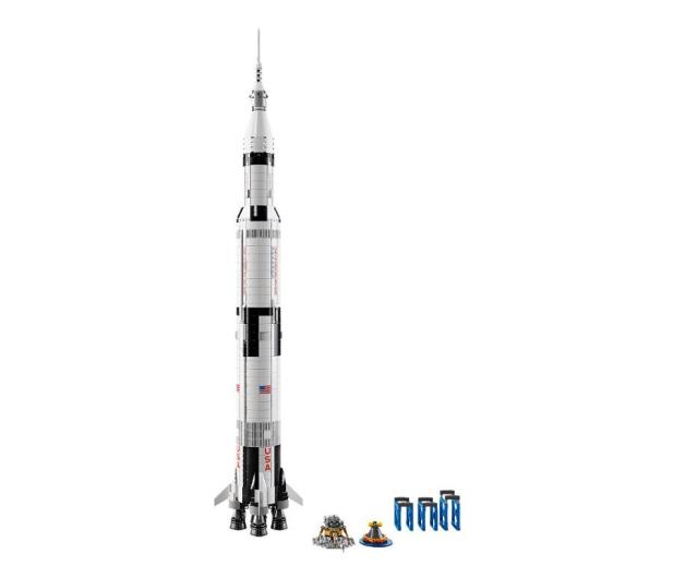 LEGO IDEAS Rakieta NASA Apollo Saturn V - 482741 - zdjęcie 2