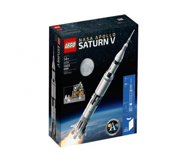 LEGO IDEAS Rakieta NASA Apollo Saturn V - 482741 - zdjęcie