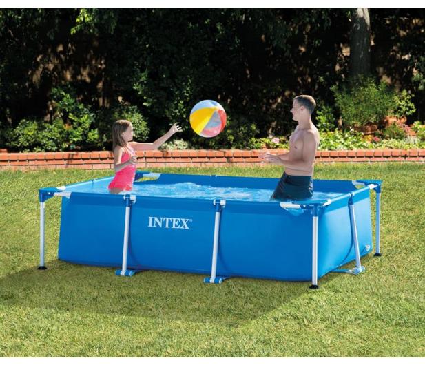 INTEX Basen Stelażowy Ogrodowy 260x160x65 cm - 477339 - zdjęcie 5