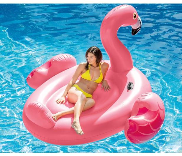 INTEX Dmuchany Mega Flaming do pływania - 477338 - zdjęcie 3
