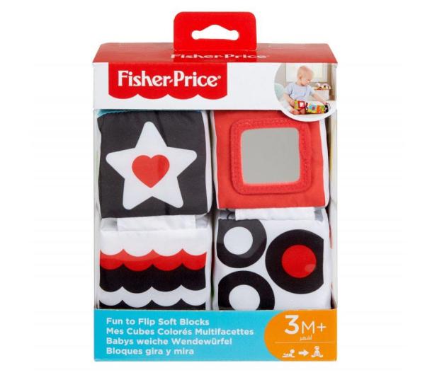Fisher-Price Miękkie Klocki Sensoryczne - 477987 - zdjęcie 7