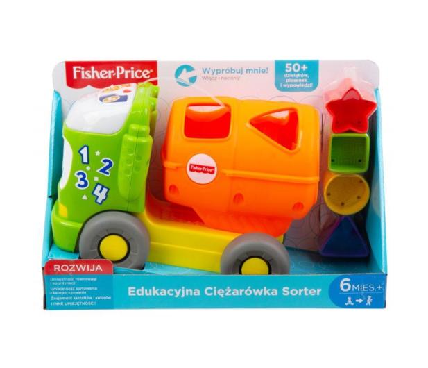 Fisher-Price Edukacyjna Ciężarówka Sorter - 477995 - zdjęcie 8