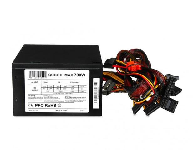 iBOX Cube II Black Edition 700W  - 477799 - zdjęcie