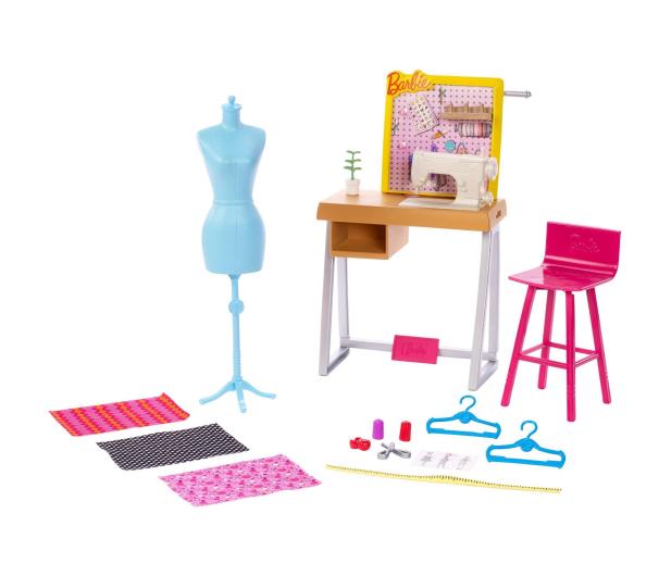 Barbie Zestaw mebelków Studio Projektantki - 476744 - zdjęcie 4