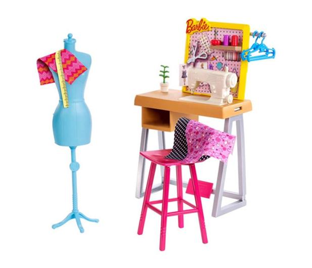 Barbie Zestaw mebelków Studio Projektantki - 476744 - zdjęcie