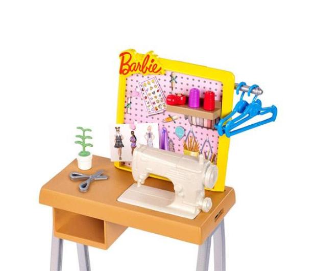 Barbie Zestaw mebelków Studio Projektantki - 476744 - zdjęcie 2