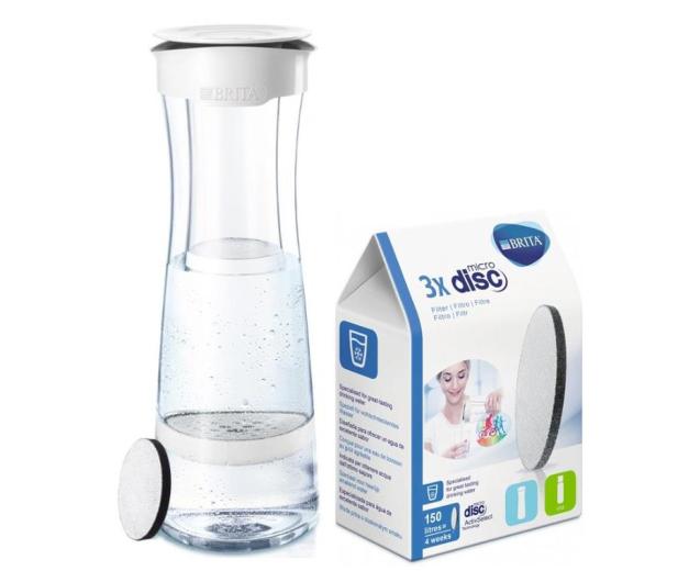 Brita Fill & Serve biało-grafitowy + 4 filtry MicroDisc - 483439 - zdjęcie