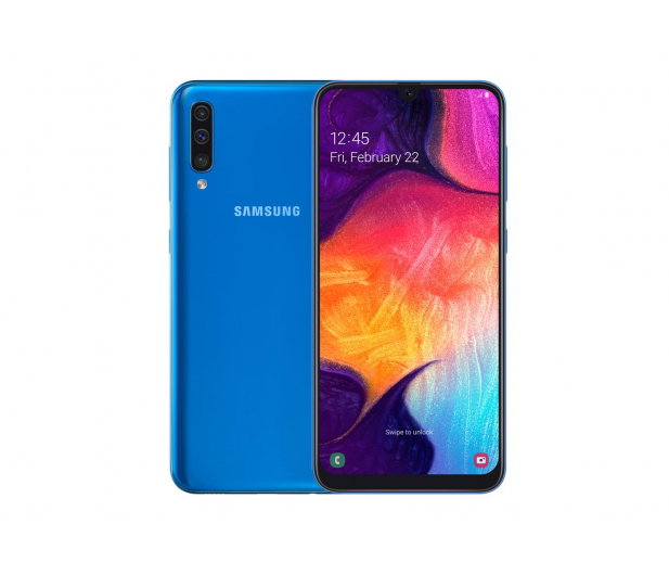 Samsung Galaxy A50 SM-A505FN Blue - 485359 - zdjęcie