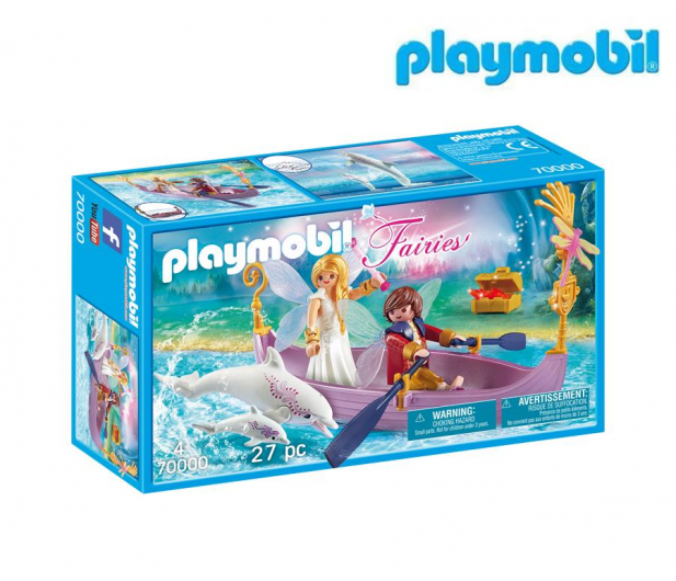 PLAYMOBIL Romantyczna łódka wróżek - 483422 - zdjęcie