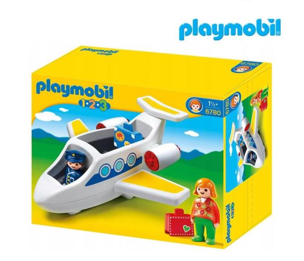 PLAYMOBIL Samolot pasażerski - 483430 - zdjęcie