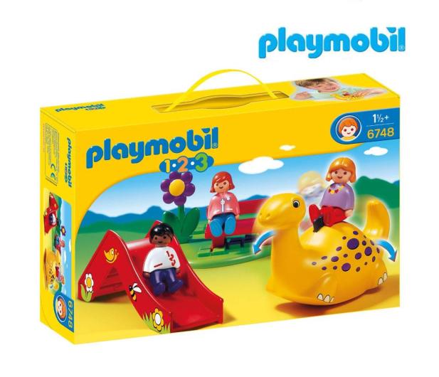 PLAYMOBIL Plac zabaw - 483429 - zdjęcie