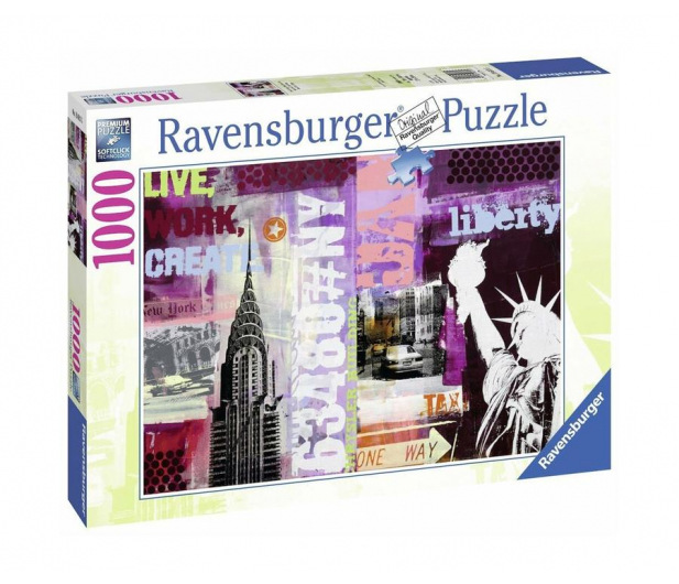 Ravensburger Nowy Jork Kolaż 1000 el. - 483233 - zdjęcie