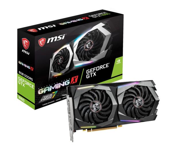 MSI GeForce GTX 1660 GAMING X 6GB GDDR5 - 485304 - zdjęcie
