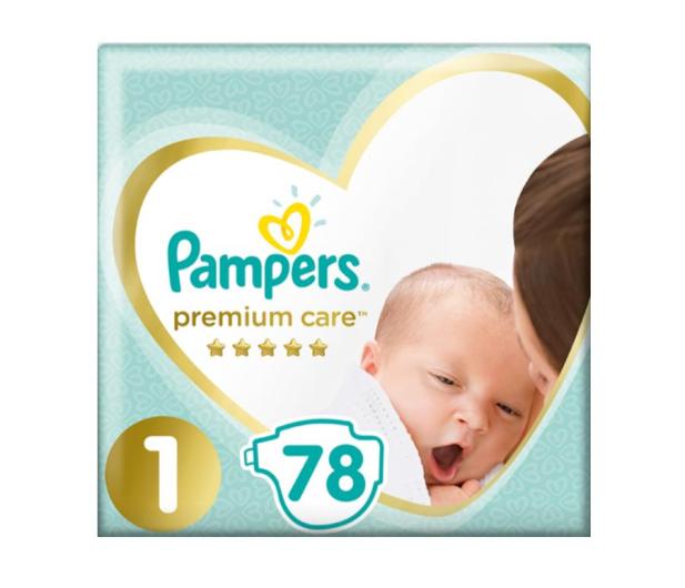 Pampers Premium Care 1 Newborn 2-5kg 78szt  - 485689 - zdjęcie