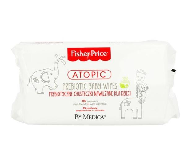 Fisher-Price Atopic Chusteczki nawilżone dla dzieci 72 szt. - 421312 - zdjęcie