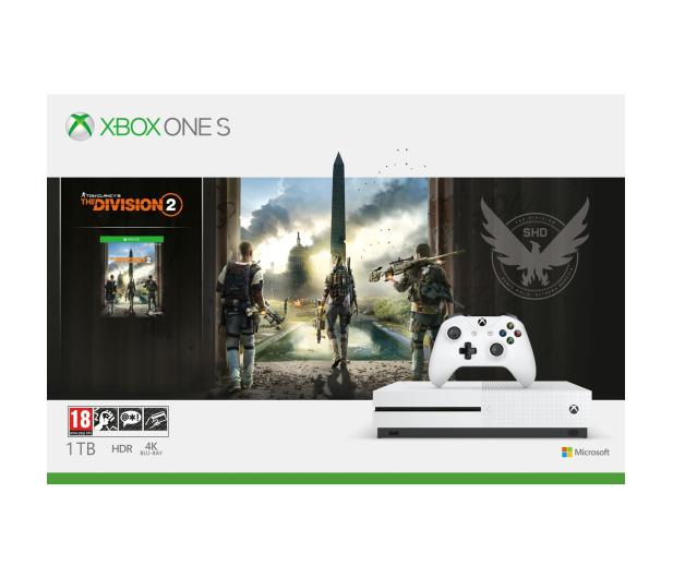 Microsoft Xbox One S 1TB + The Division 2 - 485566 - zdjęcie 8
