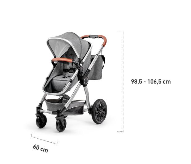 Kinderkraft Veo 2w1 Gray - 463168 - zdjęcie 7