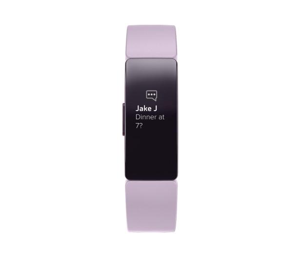 Fitbit Inspire HR Liliowa - 485343 - zdjęcie 2