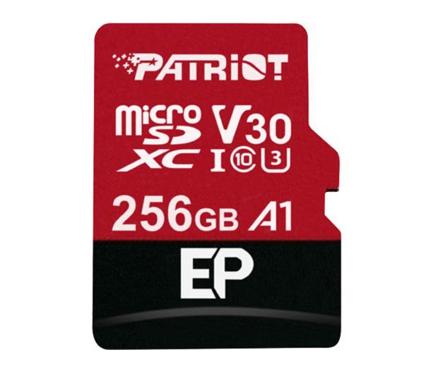 Patriot 256GB EP microSDXC 100/80MB (odczyt/zapis)  - 485621 - zdjęcie
