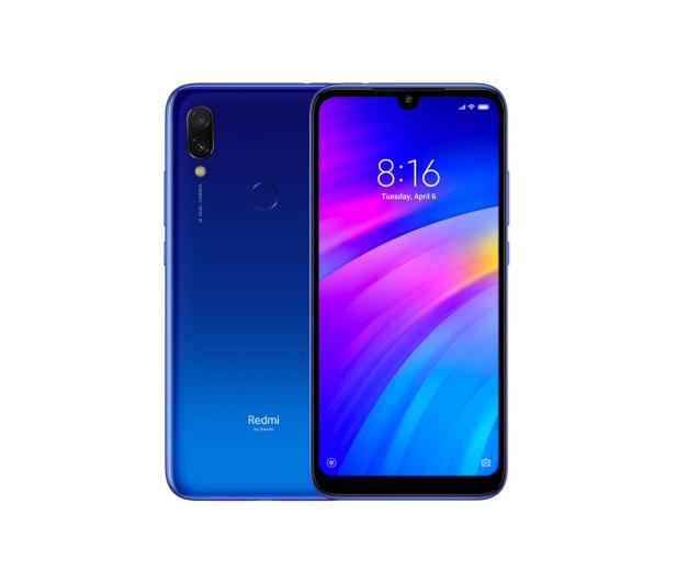 Xiaomi Redmi 7 3/32GB Dual SIM LTE Comet Blue - 484038 - zdjęcie
