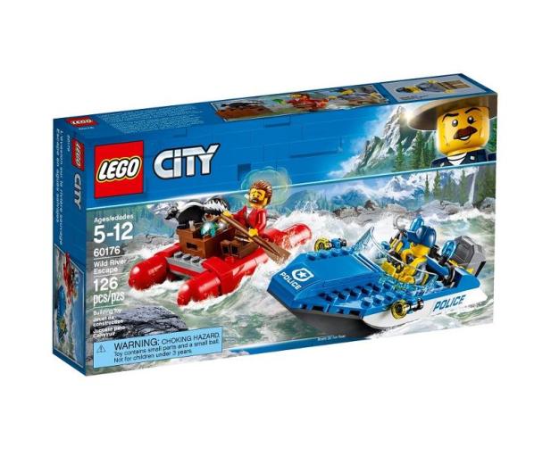 LEGO City Ucieczka rzeką - 484764 - zdjęcie
