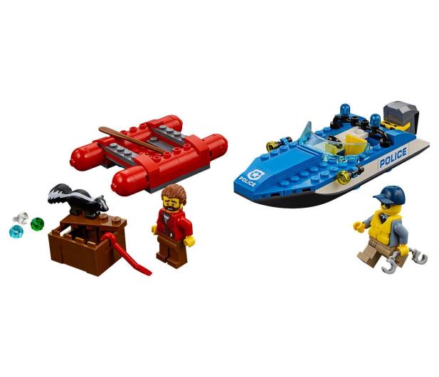 LEGO City Ucieczka rzeką - 484764 - zdjęcie 2
