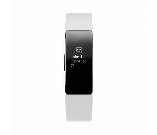 Fitbit Inspire HR Czarno - Biała - 485344 - zdjęcie 2