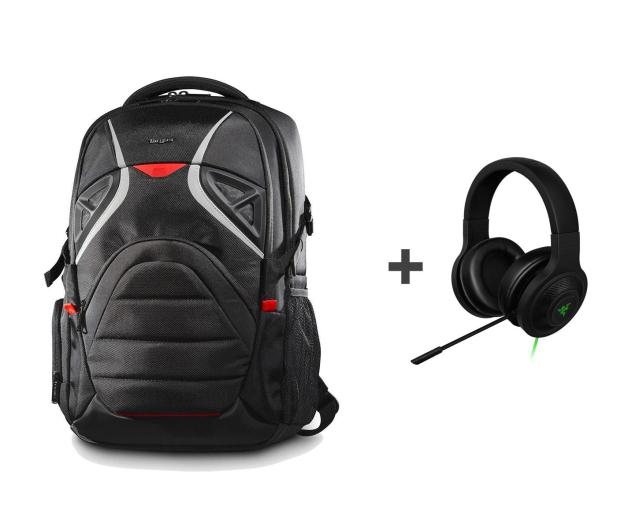 Targus Strike Gaming Backpack + Kraken Essential - 486858 - zdjęcie