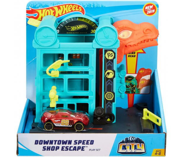 Hot Wheels City Mały Zestaw Ucieczka ze sklepu - 483384 - zdjęcie 4