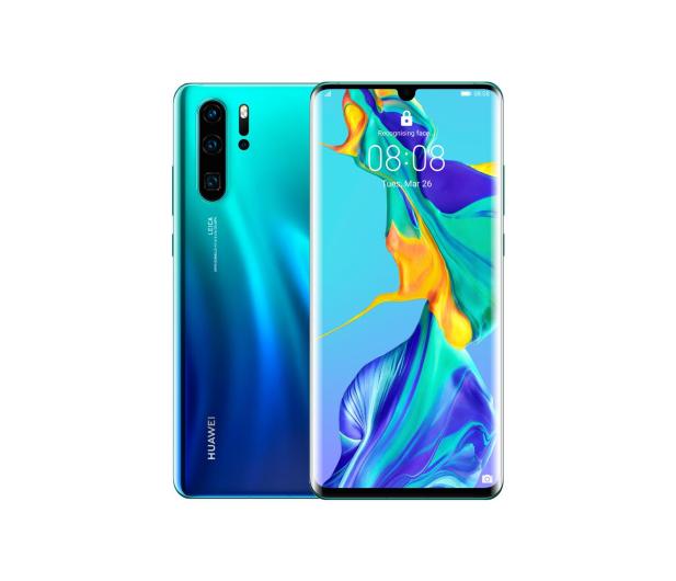 Huawei P30 Pro 256GB Aurora niebieski  - 483717 - zdjęcie