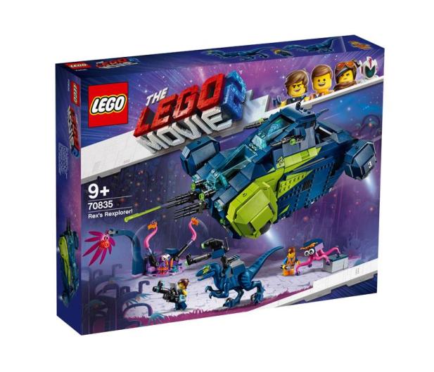 LEGO Movie Rexplorer Rexa! - 487334 - zdjęcie