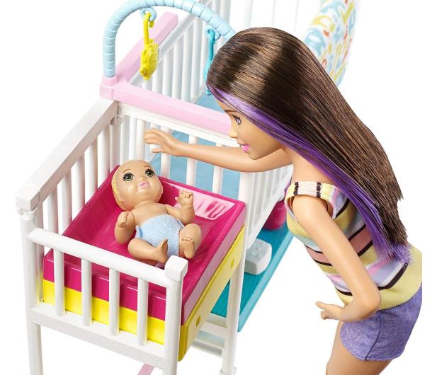 Barbie Zestaw Opieka Nad Maluszkiem + Lalka - 487228 - zdjęcie 3
