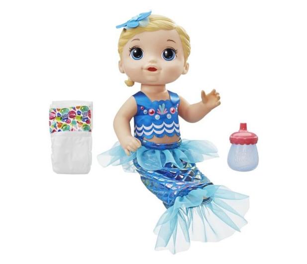Baby Alive Migoczaca Syrenka blondynka - 487273 - zdjęcie