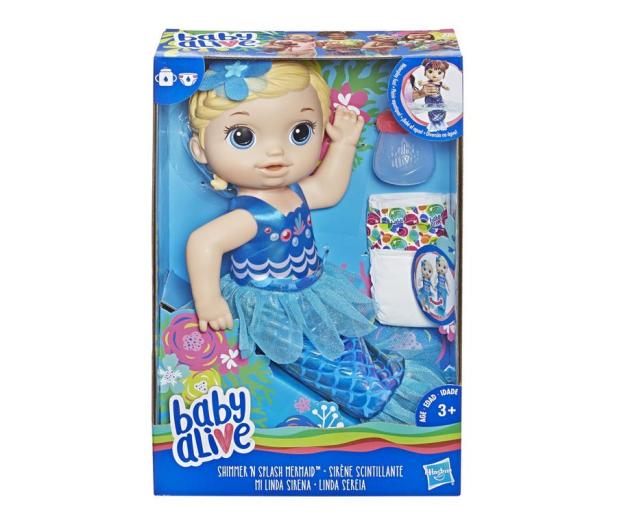 Baby Alive Migoczaca Syrenka blondynka - 487273 - zdjęcie 2